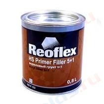 Грунт Reoflex акриловый 5+1 черный 0,8 л+0,16 л RX F-03/B