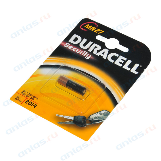 Элемент питания LR27A Duracell для брелоков сигнализаций