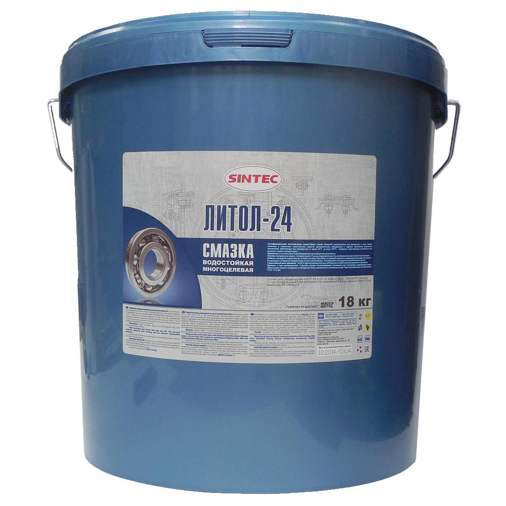 Литол 24 Sintec 18 кг 90053