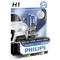 Лампа 12 В H1 55 Вт дальнего света White Vision 4300К галогенная блистер Philips