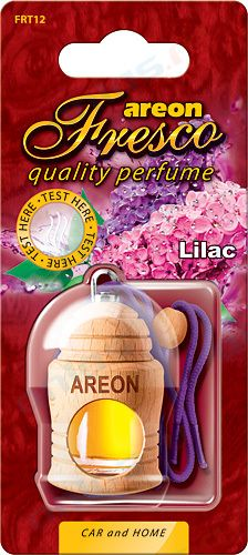 Ароматизатор на зеркало Areon fresco бутылочка сирень 704-051-312