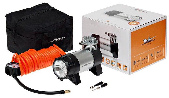 Компрессор Airline Professional 35 л/мин до 10 атм манометр фонарь сумка CA-035-03