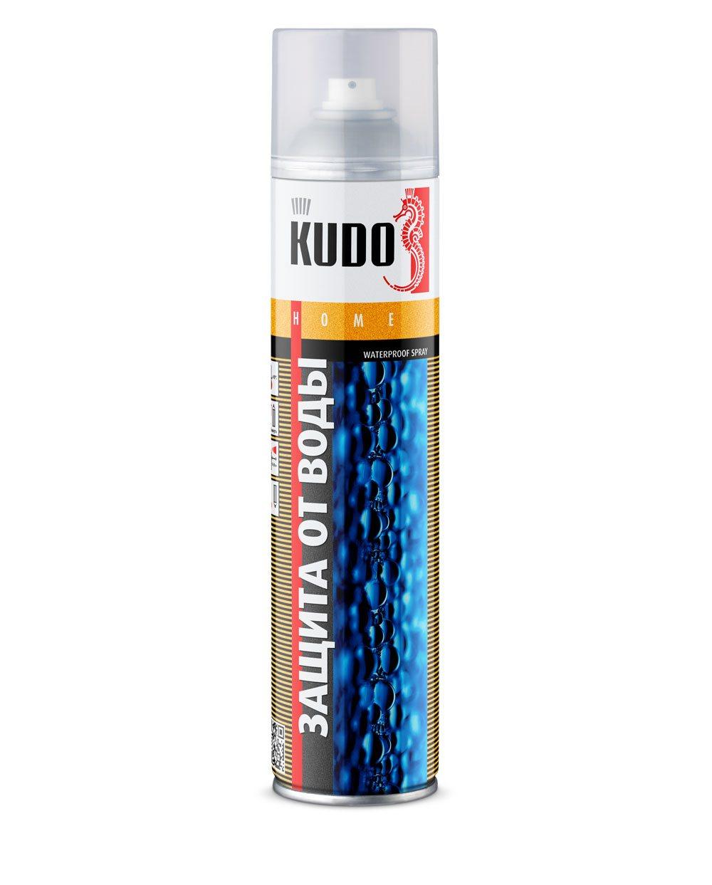 Защита от воды (водоотталкивающая пропитка для кожи и текстиля) Kudo аэрозоль 400 мл KU-H430