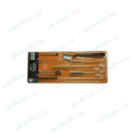 Комплект щеток для чистки краскопульта 16 пр. Русский Мастер РМ-91686
