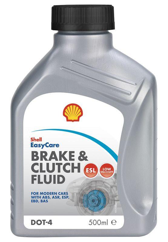 Жидкость тормозная Shell Brake & Clutch fluid Dot 4/Donax YB 0,5 л