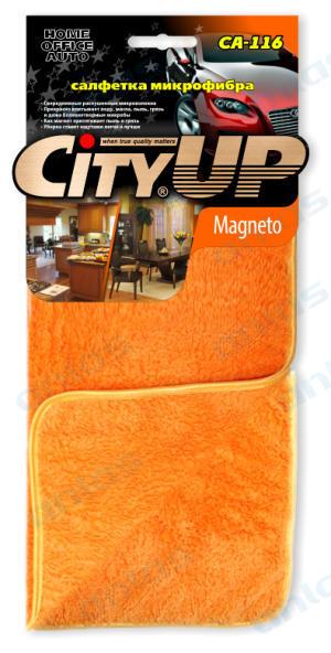 Салфетка City Up микрофибра Magneto пушистая 35 х 40 см СА-116
