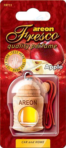 Ароматизатор на зеркало Areon fresco бутылочка красное яблоко 704-051-311