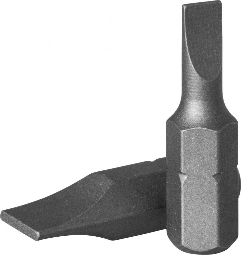 """Бита 1/4"""" шлиц L=25 мм 1,2 х 6,5 мм JW D125F6512A"""