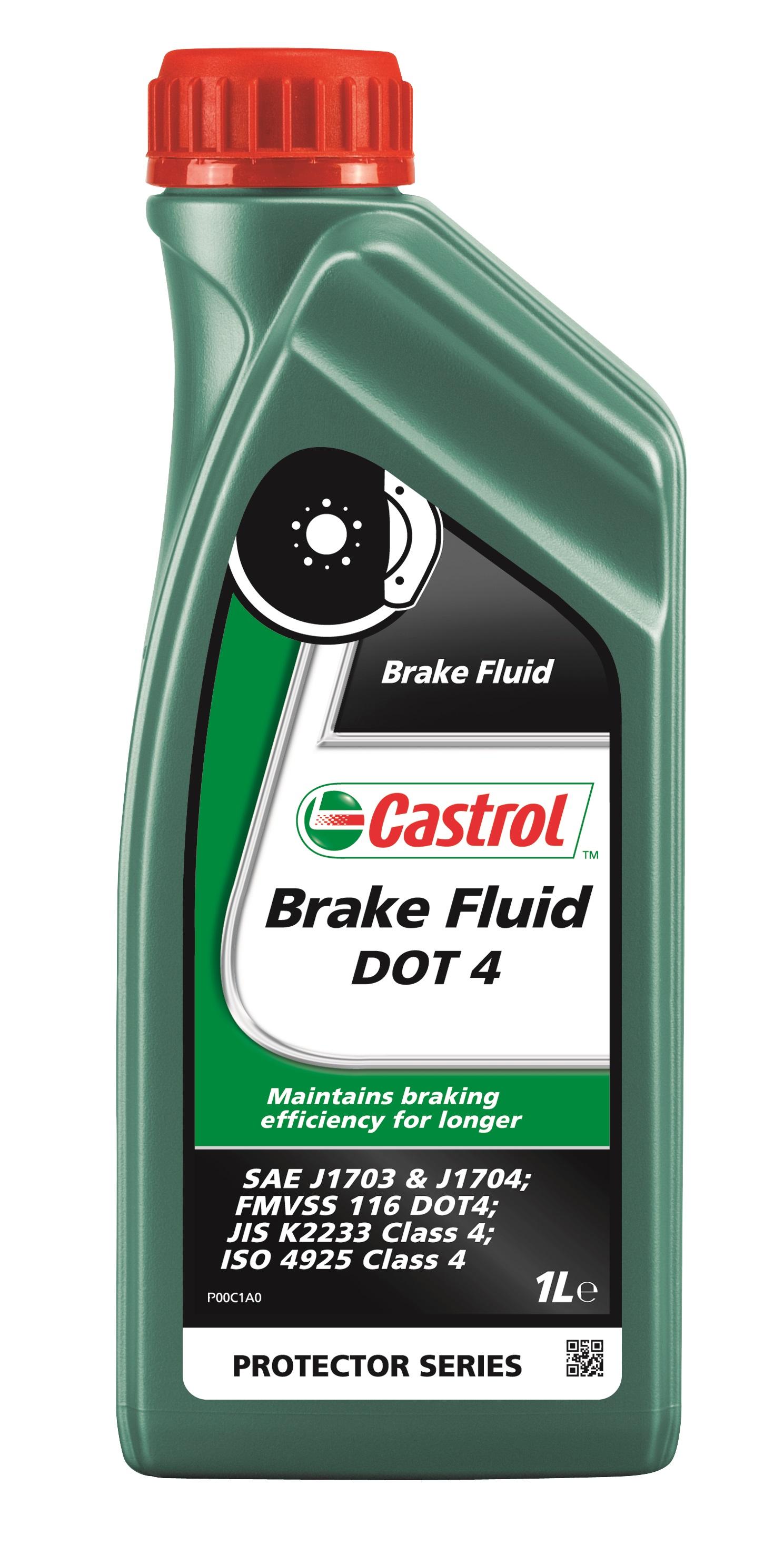Жидкость тормозная Castrol Brake Flluid Dot-4 синтетическая 1 л