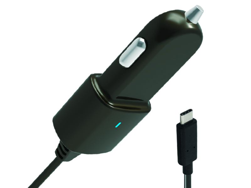 Зарядное устройство 12 В USB 2.1A Type-C Partner ПР038459