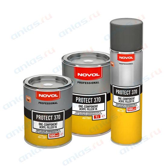 Грунт Novol 1К серый 0,5 л 370