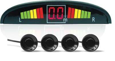 Парктроник 4 датчика цветной светодиодный дисплей с цифровым табло AVS PS-124U