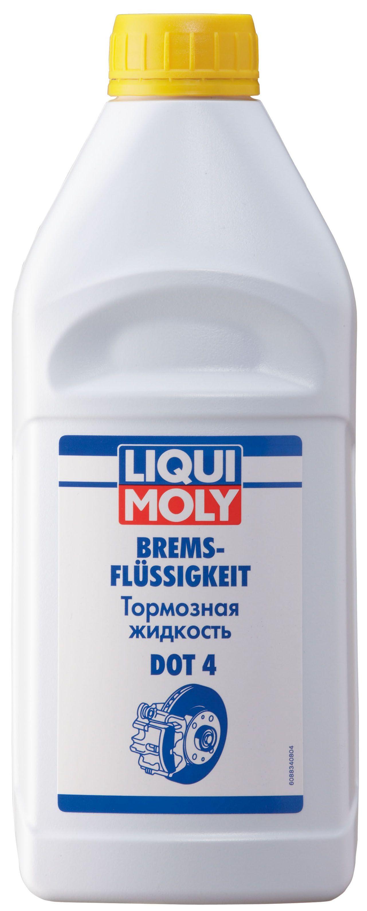 Жидкость тормозная LiquiMoly Dot-4 1 л