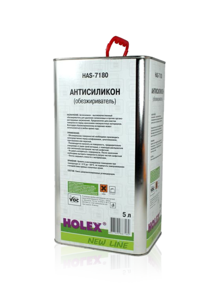 Антисиликон Holex New Line обезжириватель 5 л HAS-7180