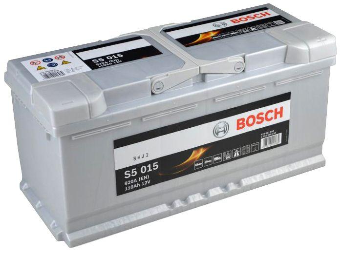 Аккумулятор Bosch S5 110 А/ч о.п. ток 920 393 х 175 х 190