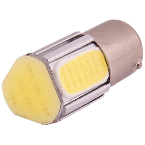 Светодиод 12В 21Вт металлический цоколь 1-конт. белый 4 SMD COB Skyway S1156-4 COB