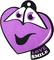 Ароматизатор на зеркало Autostandart Love smile парфюм 105015