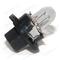 Лампа 12 В 1,2 Вт пластмассовый цоколь черный Диалуч (маленький цоколь) 82121