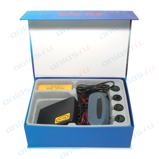 Парктроник 4 датчика Sho-me Black Y2620B