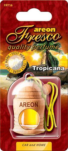 Ароматизатор на зеркало Areon fresco бутылочка тропикана 704-051-316