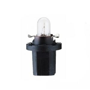 Лампа 12 В 1,2 Вт пластмассовый цоколь черный 10 шт. Philips