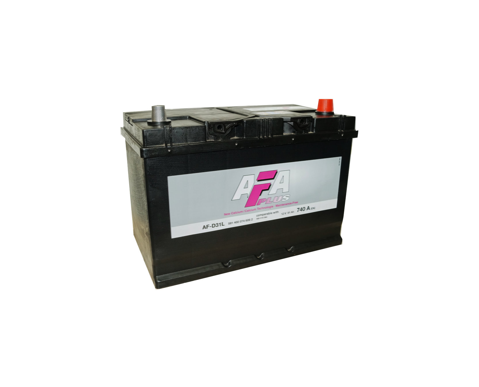 Аккумулятор AFA PLUS Asia 91 А/ч о.п ток 740 306 х 173 х 225