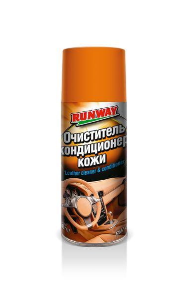 Очиститель кожи и кондиционер Runway аэрозоль 400 мл 6124 RW