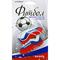 Ароматизатор на зеркало 3D Autostandart Футбол Россия бутсы, триколор ваниль 105316