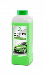 Автошампунь для б/мойки Grass Active Foam Extra активная пена 1 л 700101