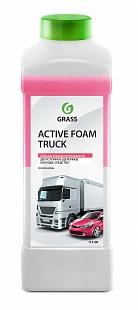 Автошампунь для б/мойки Grass Active Foam Truck активная пена 1 л 113190
