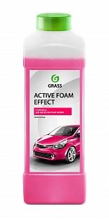 Автошампунь для б/мойки Grass Active Foam Effect активная пена 1 л 113110