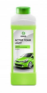 Автошампунь для б/мойки Grass Active Foam Light активная пена 1 л*Сс 132100