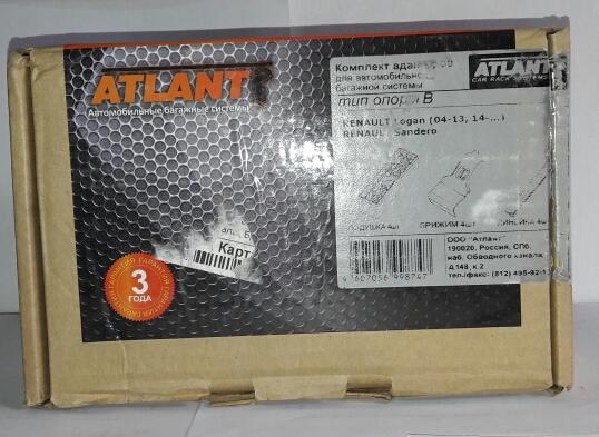 Адаптер багажника Atlant Renault Sandero /Logan 8874