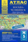 Атлас автодорог Челябинск-Москва