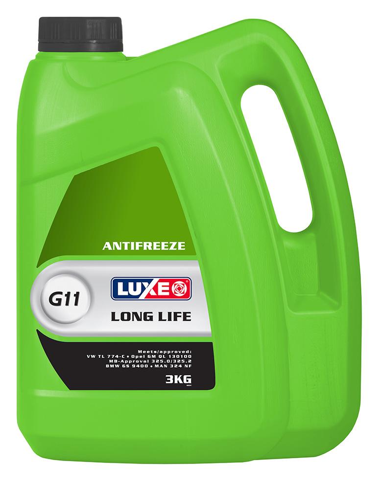 Антифриз Luxe G11 зеленый 3 л