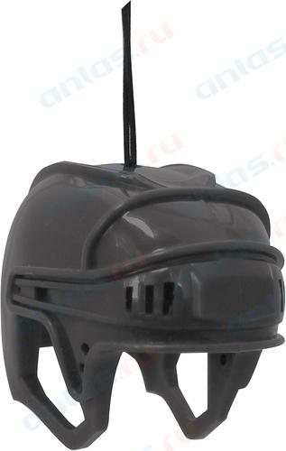 Ароматизатор на зеркало 3D Autostandart хоккейный шлем черный новая машина 105703