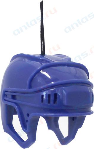 Ароматизатор на зеркало 3D Autostandart хоккейный шлем синий океан 105705