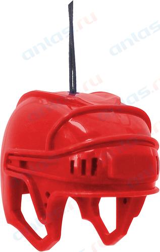 Ароматизатор на зеркало 3D Autostandart хоккейный шлем красный вишня 105706