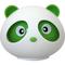 Ароматизатор на панель Autostandart Panda лимон 105411