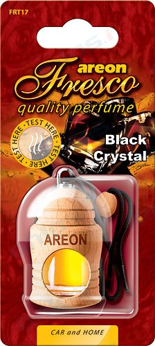Ароматизатор на зеркало Areon fresco бутылочка черный лед 704-051-317
