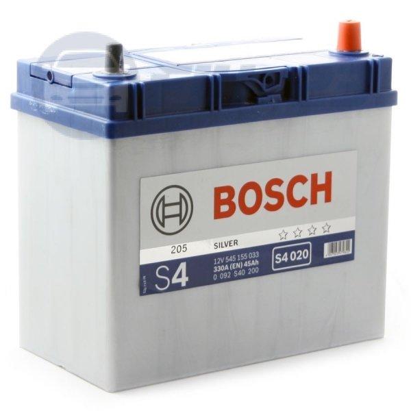 Аккумулятор Bosch Asia 45 А/ч о.п яп. ток 330 238 х 129 х 227