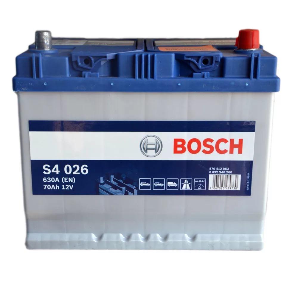Аккумулятор BOSCH Asia 70 А/ч о.п ток 630 260х175х220