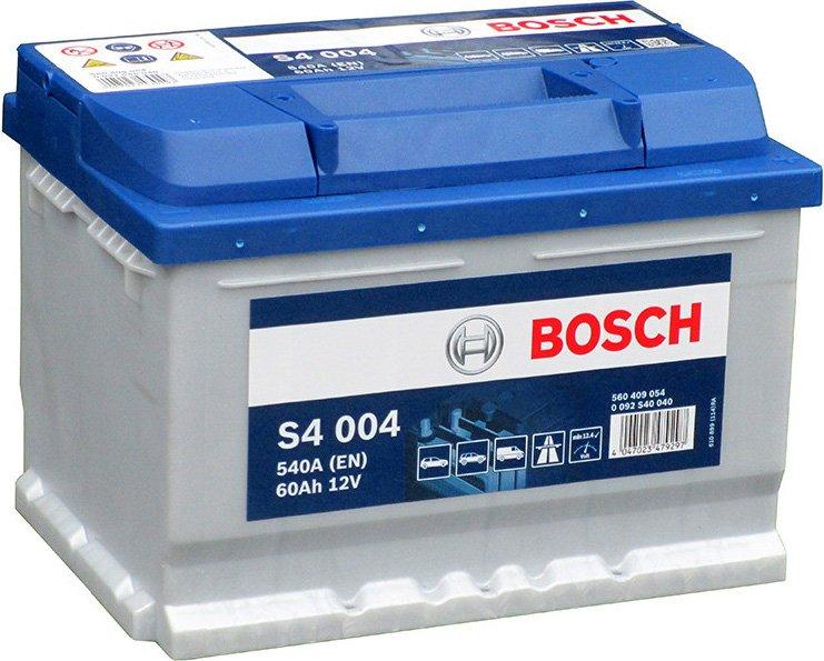 Аккумулятор Bosch S4 60 А/ч о.п ток 540 242 х 175 х 175 низкий