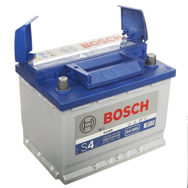 Аккумулятор Bosch S4 60 А/ч о.п ток 540 242 х 175 х 190
