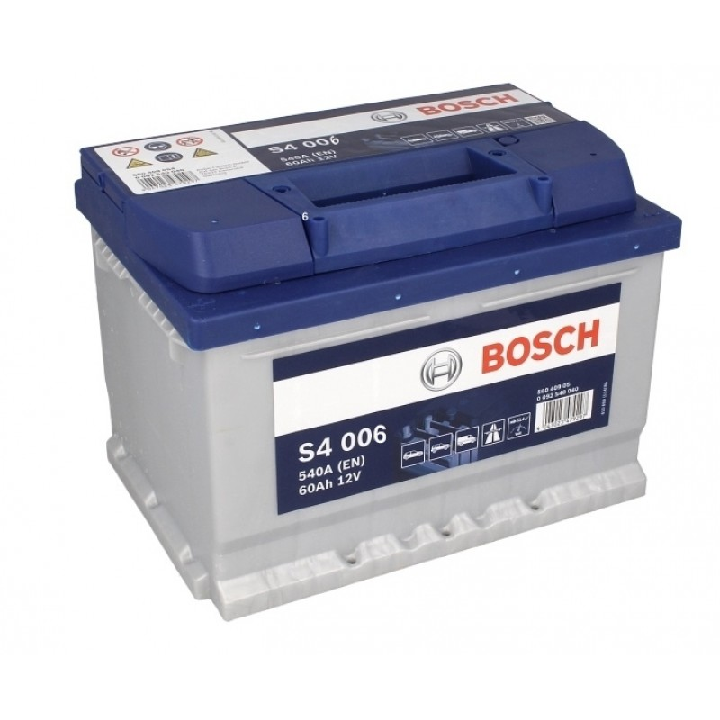 Аккумулятор Bosch S4 60 А/ч п.п ток 540 242 х 175 х 190