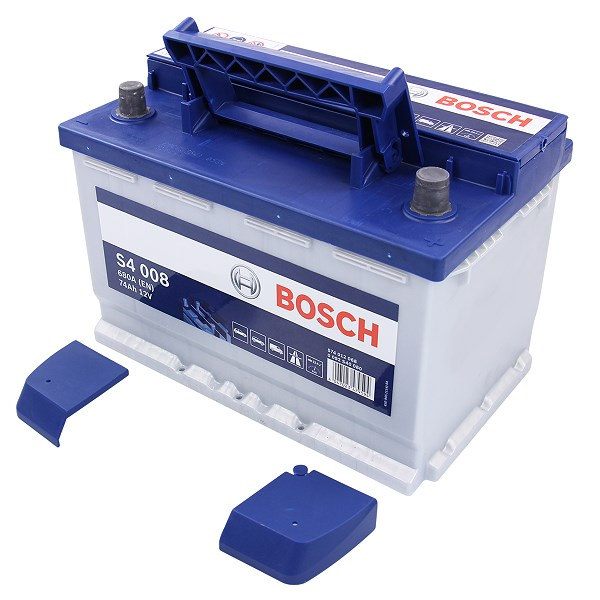 Аккумулятор Bosch S4 74 А/ч о.п ток 680 278 х 175 х 190