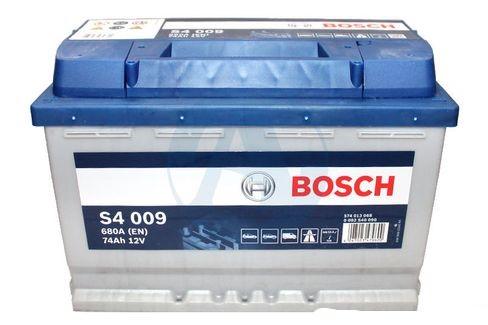 Аккумулятор Bosch S4 74 А/ч п.п ток 680 278 х 175 х 190