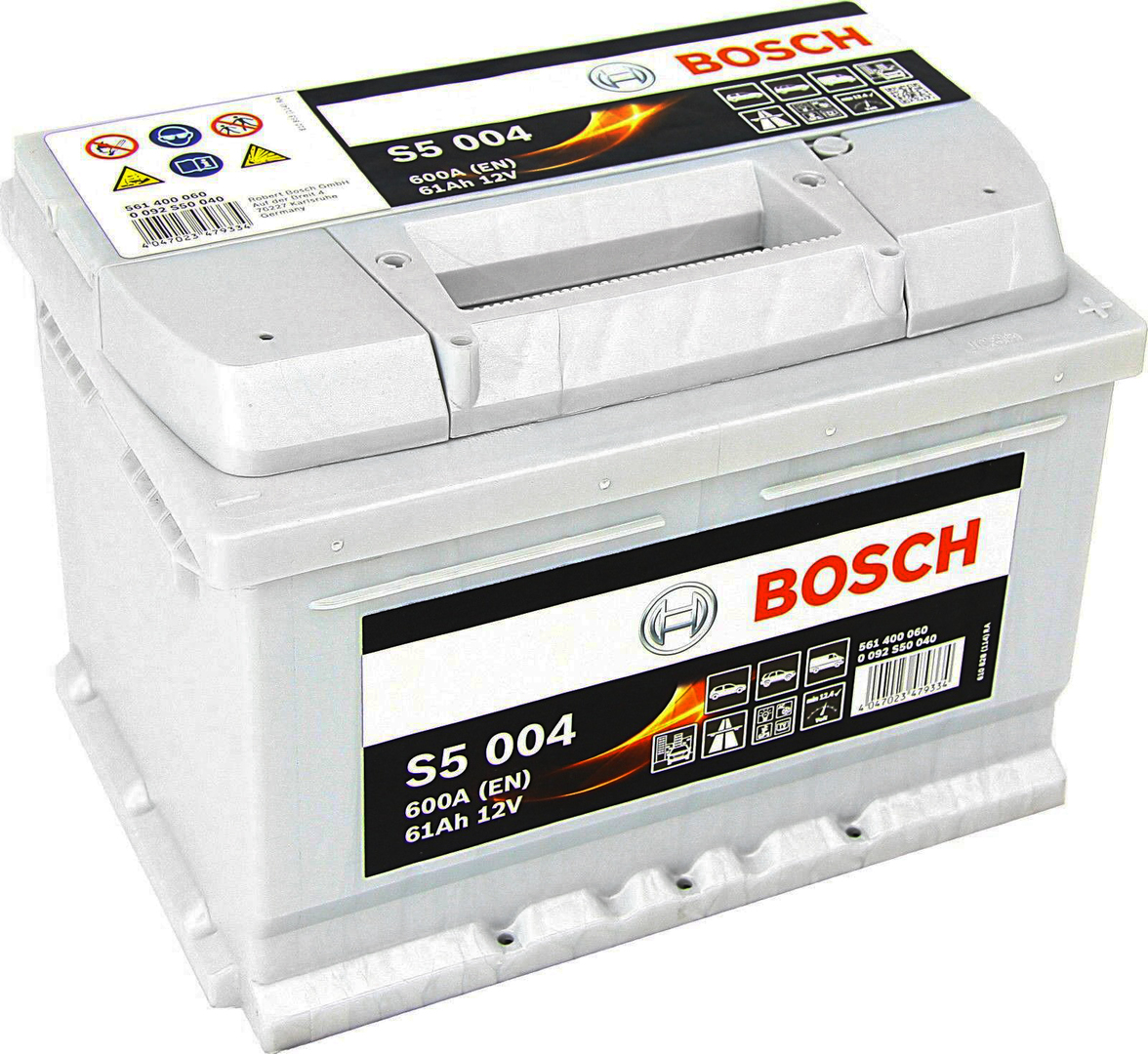 Аккумулятор Bosch S5 61 А/ч о.п ток 600 242 х 175 х 175 низкий