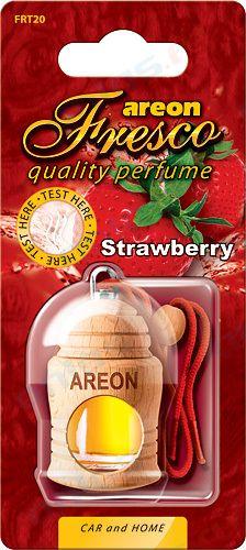 Ароматизатор на зеркало Areon fresco бутылочка клубника 704-051-320