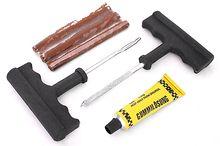 Набор для ремонта бескамерных шин Autostandart (шило, рашпиль, жгуты 3 шт., клей)108501
